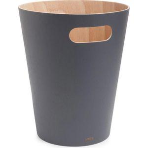 Papierkorb Umbra Woodrow Can, 082780-618, grau