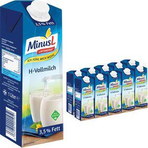 Milch MinusL laktosefreie H-Milch 3,5% Fett