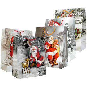 Geschenktüte Böttcher-AG Weihnachtsmänner