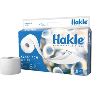 Toilettenpapier Hakle Klassisch weiß