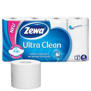Toilettenpapier Zewa Ultra Clean