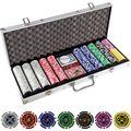 Zusatzbild Pokerkoffer Maxstore 20030017, 500 Pokerchips