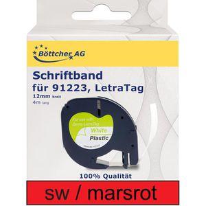 Schriftband Böttcher-AG für Dymo 91223, LetraTag