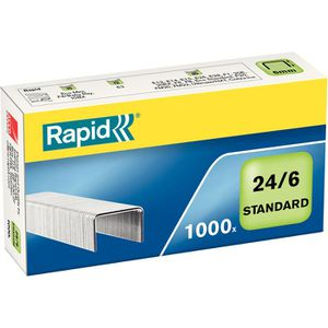 Heftklammern Rapid 24855600, 24/6, verzinkt