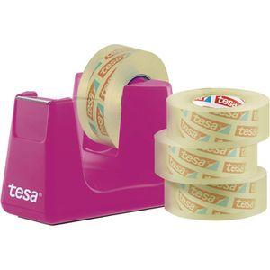 Klebefilmabroller Tesa 53909 Smart, pink