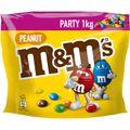 Schokobonbons M&Ms Peanut, Party Pack