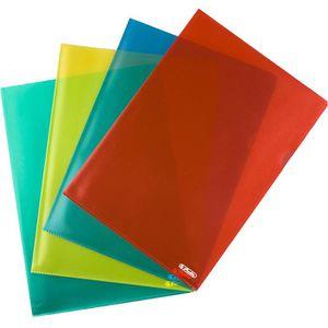 Sichthüllen Herlitz 11420254, farbig sortiert, A4