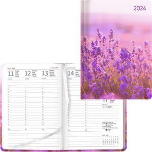 Buchkalender Alpha Ladytimer Flower Field, 2021