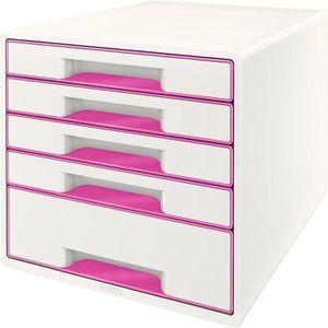 Schubladenbox Leitz 5214-20-23, WOW Cube, A4