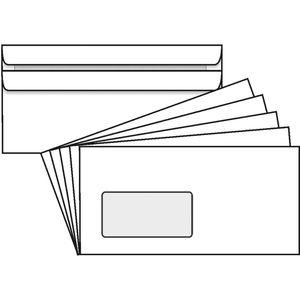 Briefumschläge Rössler 125 x 229mm, weiß