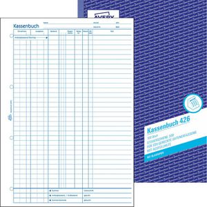 Kassenbuch Zweckform 426, EDV-Erfassung, A4
