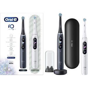 Elektrische-Zahnbürste Oral-B iO 8 Duo Black/White