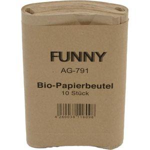 Müllbeutel Funny Bio-Papierbeutel, 10 Liter