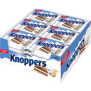 Waffeln Knoppers Milch-Haselnuss-Schnitte