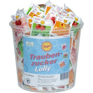 Lutscher Frigeo Traubenzucker Lolly