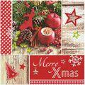 Servietten Susy-Card 40030234 Christmas Nature