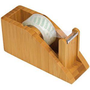 Klebefilmabroller Wedo 61907 Bambus, braun
