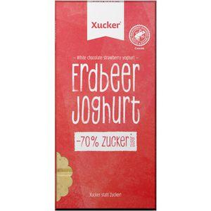 Tafelschokolade Xucker Xukkolade, Erdbeer-Joghurt