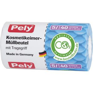 Müllbeutel Pely Kosmetikeimer-Müllbeutel, 5 Liter