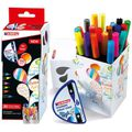 Brush-Pen Edding 4-CH20+1, Colour Happy Set