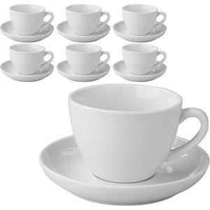 Kaffeetassen Esmeyer Bistro mit Untertassen, 300ml