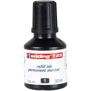 Nachfülltusche Edding T25, schwarz