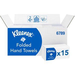 Papierhandtücher Kimberly-Clark Kleenex Ultra 6789