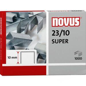 Heftklammern Novus 042-0531, 23/10 Super, verzinkt