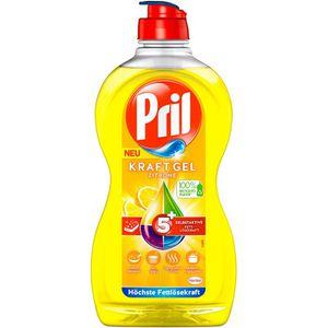 Spülmittel Pril Kraft-Gel 5+ Zitrone
