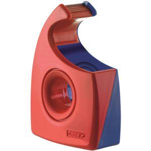 Klebefilmabroller Tesa 57444 Easy Cut, rot/blau