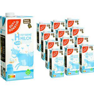 Milch Gut&Günstig fettarme H-Milch 1,5% Fett