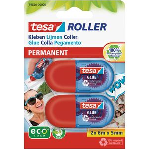 Kleberoller Tesa ecoLogo Mini, Einwegroller