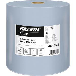 Putztuchrolle Katrin Basic XXL, 464354, blau