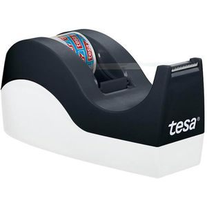 Klebefilmabroller Tesa 53914 Orca, schwarz/weiß