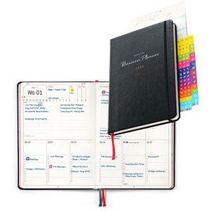 Buchkalender weekview Business Planner, Jahr 2022