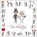 Einladungskarten Böttcher-AG Hochzeit