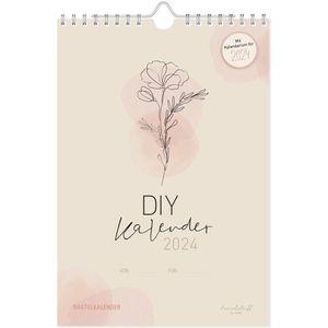 Fotokalender Häfft 5134-6 Kunterbunt, Jahr 2022