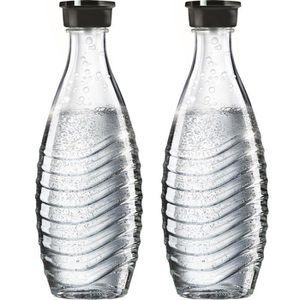 Karaffe Sodastream Glaskaraffe, Duopack, 2x 0,6l
