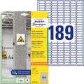 Universaletiketten Zweckform L7871-20, weiß