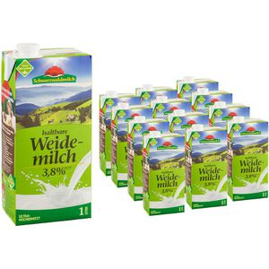 Milch Schwarzwaldmilch H-Milch, 3,8% Fett