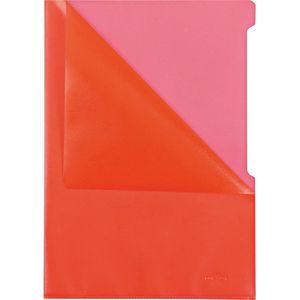 Sichthüllen Durable 2337-03, rot, A4