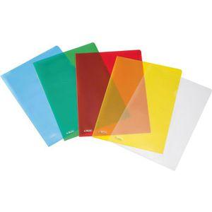 Sichthüllen Herlitz 50009084, farbig sortiert, A4