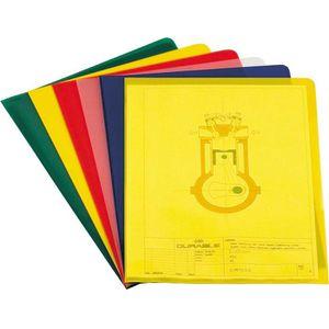 Sichthüllen Durable 2337-00, farbig sortiert, A4