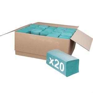 Papierhandtücher Böttcher-AG 1-lagig, grün