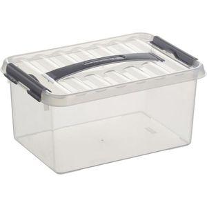 Aufbewahrungsbox Sunware Q-Line Box 78200609, 6L