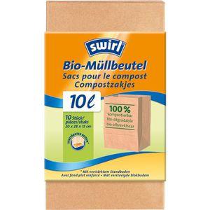 Müllbeutel Swirl Bio-Müllbeutel, 10 Liter
