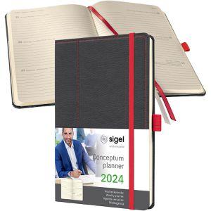 Buchkalender Sigel C2255, Conceptum, Jahr 2022