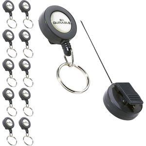 Schlüsselanhänger Durable 8222-58, Metall/Kunstst.