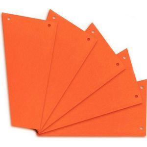 Trennstreifen Herlitz 10838498, Trapez, orange