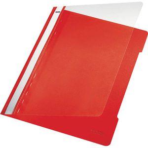 Schnellhefter Leitz 4191-00-25, A4, rot
